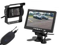 """Bezdrátová couvací kamera s monitorem LCD 7"""""""