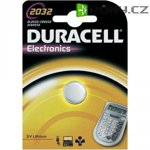 Knoflíková baterie Duracell CR2032, lithium, DUR033917