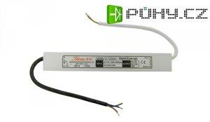 Spínaný zdroj pro LED + LED pásky-VA-12030M, 12V 2,5A 30W
