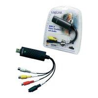 Digitalizace audia a videa LOGILINK USB 2.0