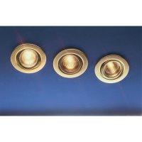 Sada výklopných vestavných svítidel, 3x 20 W, GU5.3, zlatá