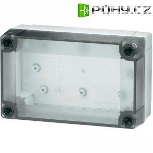 Polykarbonátové pouzdro MNX Fibox, (d x š x v) 255 x 180 x 75 mm, šedá (MNX-PCM 200/75 T)