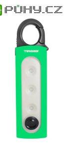 Svítilna ruční TIROSS TS-1839 1 LED+COB, 4x AAA zelená