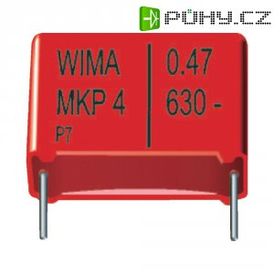 Foliový kondenzátor MKP Wima, 0,1 µF, 250 V, 20 %, 10,3 x 4,5 x 9,5 mm
