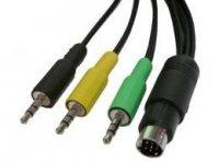 Kabel Audio G9 - 3x Jack 3,5 stereo TESLA 8m