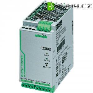 Zdroj na DIN lištu Phoenix Contact QUINT-PS/3AC/24DC/20, 20 A, 24 V/DC