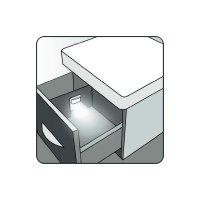 Vestavné LED osvětlení SKOFF Tango, 10 V, 0,8 W, studená bílá, hliník
