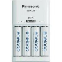Nabíječka Panasonic MQN04, PLG-MQN04-E-4-3UTGB + 4x eneloop AA