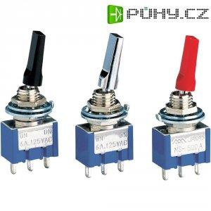 Miniaturní páčkový přepínač Miyama MS 500 A-MF, 250 V/AC, 3 A, 1x zap/zap, 1 ks