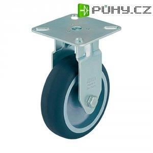 Otočné kolečko s konstrukční deskou, Ø 50 mm, Blickle 380204, BPA-TPA 50G