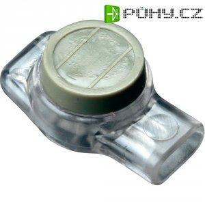 Svorka 3M Scotchlok, 80-6113-0490-0, 0,13 - 0,65 mm², 3pólová, šedá