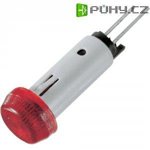 LED signálka Signal Construct SKAS070, 2 V, červená