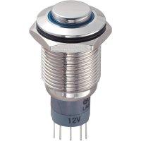 Tlačítkový spínač antivandal TRU Components LAS2GQH-11ZE/B/12V/N/P, 250 V/AC, 3 A, 1 ks