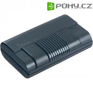 Kabelový stmívač posuvný, 230 V/AC, 75 - 300 W, černá