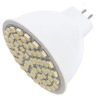 Žárovka LED MR16/12VAC (60SMD) 3W - bílá