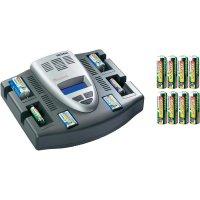 Nabíjecí stanice Voltcraft Charge Manager 2015 + 8x AA NiMH Endurance