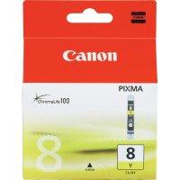 Cartridge Canon CLI-8Y, 0623B001, žlutá