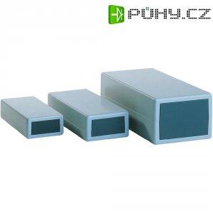 Plastové pouzdro Axxatronic, (š x v x h) 67,5 x 34,8 x 131 mm, šedá (651)