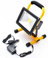 Reflektor LED 20W přenosný nabíjecí