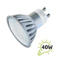 Žárovka LED GU10/230V 27SMD 4W - bílá teplá
