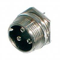 Konektor MIC panel kov 3PIN šroubovací