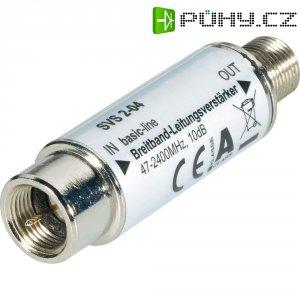 Mini zesilovač na kabel, EuroSky 10-20 V, zesílení < 10 dB
