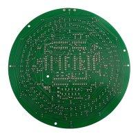 Plošný spoj pro stavebnici PT036 CMOS kruhové hodiny