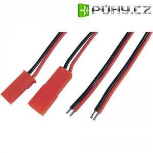 Napájecí kabely Modelcraft, BEC zástrčka a zásuvka, 0,14 mm²