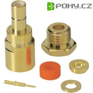 SMB konektor BKL Electronic 411018, 50 Ω, 500 MΩ, zásuvka rovná, 2.6 mm