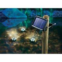 Podvodní solární LED reflektory Esotec Splash, 102148