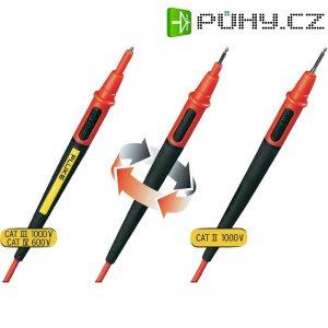 Sada měřicích kabelů banánek 4 mm ⇔ banánek 4 mm Fluke TL175, 1,5 m, černá/červená