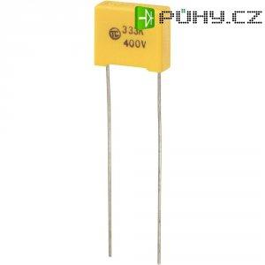 Foliový kondenzátor MKS, 0,033 µF, 400 V, 5 %, 13 x 5 x 11 mm