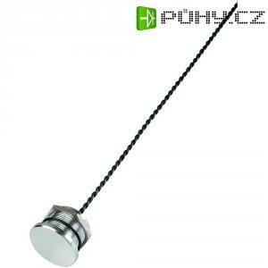 Piezo tlačítko, 24 V DC/AC, 0,2 A, IP 68, PS223P10Y01, ploché