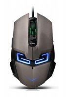 Myš PC drátová CANYON CND-SGM7 stříbrno-černá