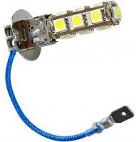 Žárovka LED H3 12V/3,5W bílá, 13xSMD5050