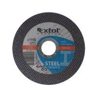 Kotouč řezný na ocel, 115x1,0x22,2mm, EXTOL PREMIUM 8808100