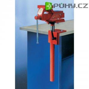Ocelový svěrák s nastavitelnou výškou Küpper 1444, 125 mm