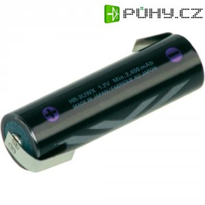 Akumulátor s pájecími kontaktyNiMH Sanyo XX AA, 1,2 V, 2500mAh
