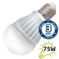 Žárovka LED A60 E27 12W bílá teplá (Al)