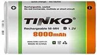 Nabíjecí článek NiMH D 1,2V/8000mAh TINKO