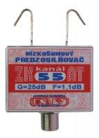 Anténní zesilovač ZK55AT 25dB F