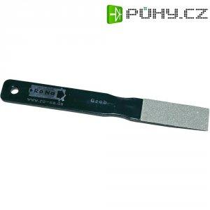 Diamantový plochý pilník RONA, hrubý, 5 x 2 cm
