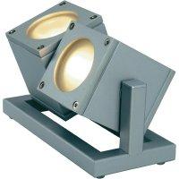 Venkovní svítidlo SLV Cubix 2, 25 W, šedá