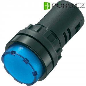 LED signálka AD16-22ES/12V/B, 12 V/DC / 12 V/AC, modrá