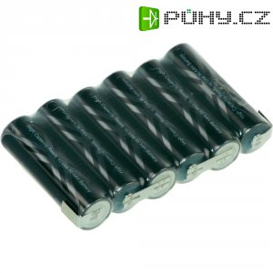 Akupack s pájecímo kontakty Sanyo XX, AA, 7,2 V, 2400 mAh
