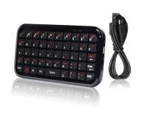 Klávesnice bluetooth mini pro smartphony/tablety/smart TV