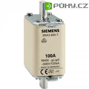 Pojistková vložka NH Siemens, vel. 000, 40 A, 3ks, 3NA3817