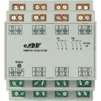I/O modul RS485 na DIN lištu HomeMatic HMW-IO-12-Sw14-DR, 92011, 12 vstupů, 14 výstupů