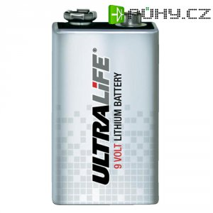 Lithiová baterie Ultralife High Energy 9V, 1200 mAh