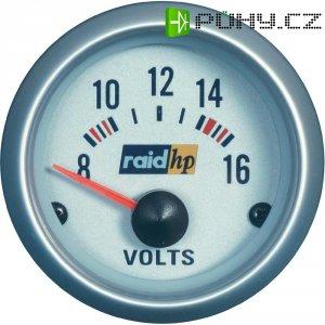Palubní voltmetr Raid Hp Silber-Serie, 660223